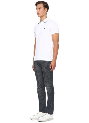 Etro Tişört Beyaz